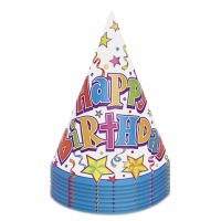Birthday Stars Party Hat