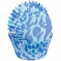 Blue Camo Mini Cup 100 CT