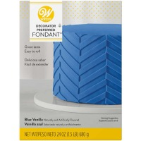 Wilton Blue Fondant 24 OZ
