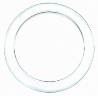 "BPP 6"" PL Plate Clear 32 CT"