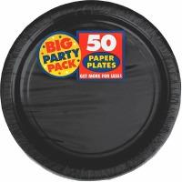 "BPP 7"" Plate 60 CT Black"
