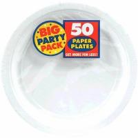 """BPP 7"""" Plate 60 CT White"""
