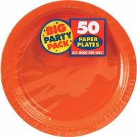 """BPP 9"""" Plate 60 CT Orange"""