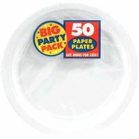 """BPP 9"""" Plate 60 CT White"""