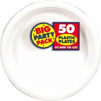 "BPP PL 7"" Plate 50 CT White"