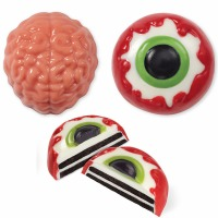 Brain Eye Cookie Candy Mold