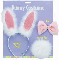 Bunny Ear/Bow Tie/Tail Set