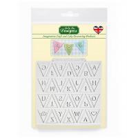 Bunting Alphabet- Silicone Katy Sue Designs