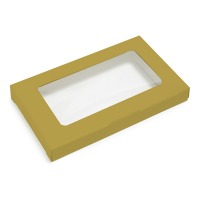 Business Card Box - Gold
