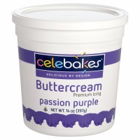 Celebakes Passion Purple Buttercream Icing 14 oz.