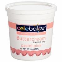 Celebakes Pastel Pink Buttercream Icing 14 oz.