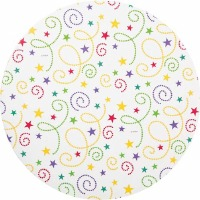Wilton Cake Board Party Swirl Design - 3 Pack