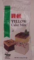 R&H Cake Mix 5 Pounds - Yellow
