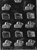 Cake/Pie Slices Candy Mold