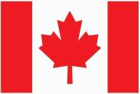"Canadian Flag 4"" X 6"""