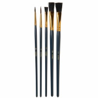 Candy Brushes Assorted 5-PK