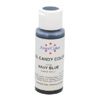 Candy Color 2 Ounce Navy Blue