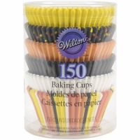 Candy Corn Baking Cups 150 CT