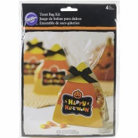 Candy Corn Treat Bag Kit 4 CT