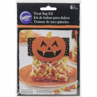 Candy Corn Treat Bag Kit 6CT