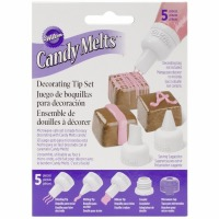 Candy Decorating Tip Set 5 PC