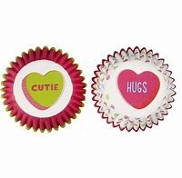 Candy Hearts Mini Cups 100 CT
