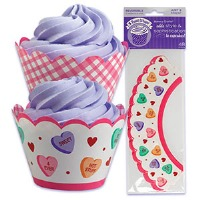 Candy Hearts Treat Wraps 48