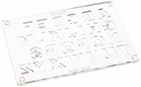 Candy Mold 2 Piece Alphabet