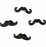 Candy Mustache Sprinkles 88 OZ