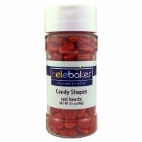 Celebakes 3.5 oz. Red Heart Shapes