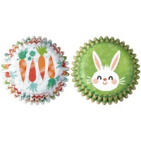 Carrot / Bunny Baking Cup 100