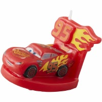 Cars Birthday Candle