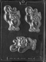 Cat with Heart Candy Mold