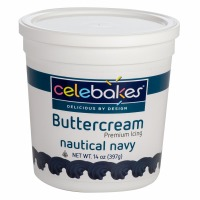 Celebakes Nautical Navy Buttercream Icing 14 oz.