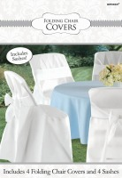 Chair Cover w/ Bow 4 CT