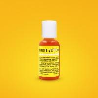 Chefmaster 3/4 OZ Food Color Lemon Yellow