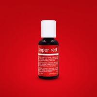 Chefmaster 3/4 OZ Food Color Super Red