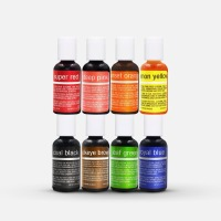 Chefmaster 8-Pack Color Kit