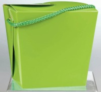 Chinese Pail Quart Lime Green