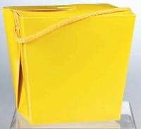 Chinese Pail Quart Yellow
