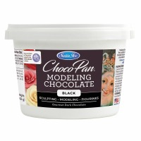 Chocopan Modeling Chocolate Black 1 Pound