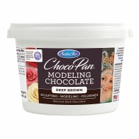 Chocopan Modeling Chocolate Deep Brown 1 Pound
