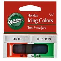 Christmas 2-Color Icing Kit