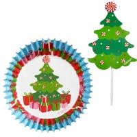 Christmas Cupcake Decor Kit