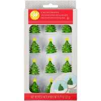 Christmas Tree Royal Icing