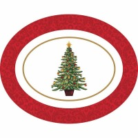 Classic Tree Oval Platter