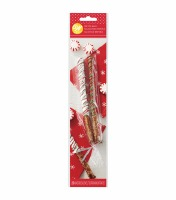 Clear Pretzel Bag & Ties 20 CT