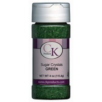 Coarse Sugar 4 OZ Green