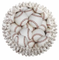 Color Cups Baseball 36 CT