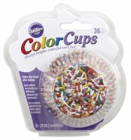 Color Cups Jimmies 36 CT